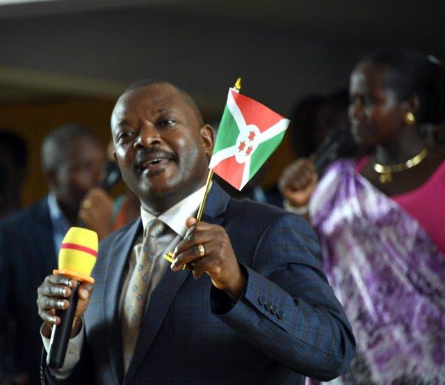 Pierre Nkurunziza, president de Burundi