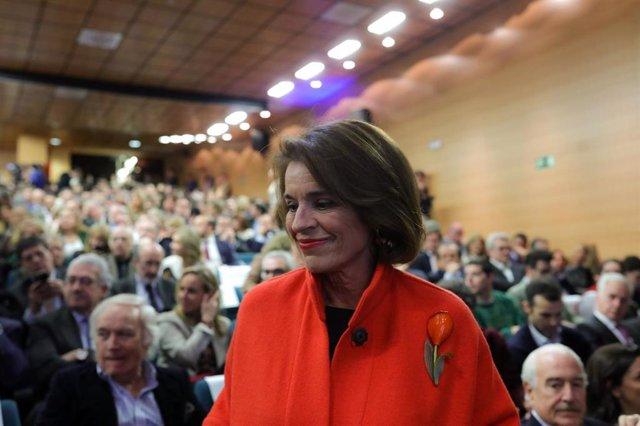 La ex alcaldesa de Madrid Ana Botella