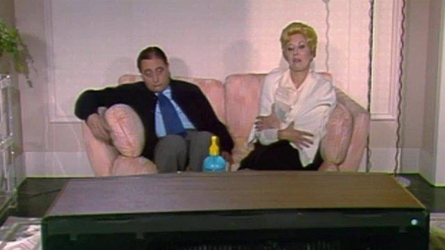 Rosa Mará Sardá en su programa de TVE Ahí te quiero ver
