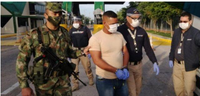 José Rojas Castillo, el supuesto militar de la Fuerza Armada Nacional Bolivariana (FANB) de Venezuela descubierto en Colombia cuando realizaba tareas de seguimineto y espionaje.