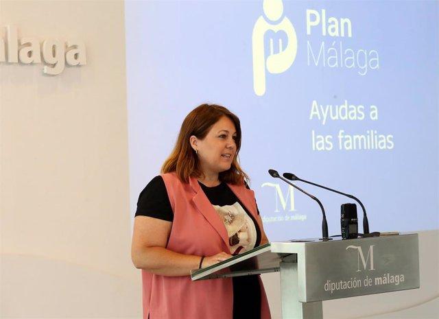 Natacha Rivas, vicepresidenta cuarta de la Diputación de Málaga