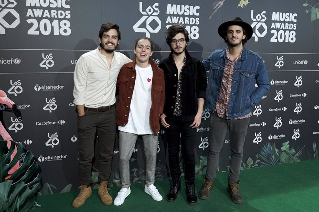 '40 Principales' Awards Nominated Dinner 2018