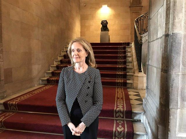 La consellera de Cultura, Mariàngela Vilallonga (arxiu)