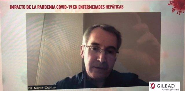 """Jornada """"Impacto de la pandemia COVID-19 en enfermedades hepáticas"""""""