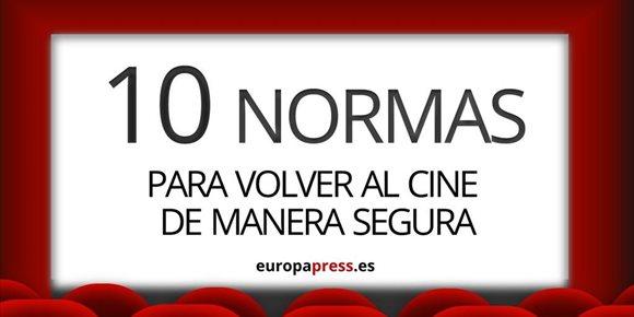 1. Las 10 normas para volver al cine de forma segura