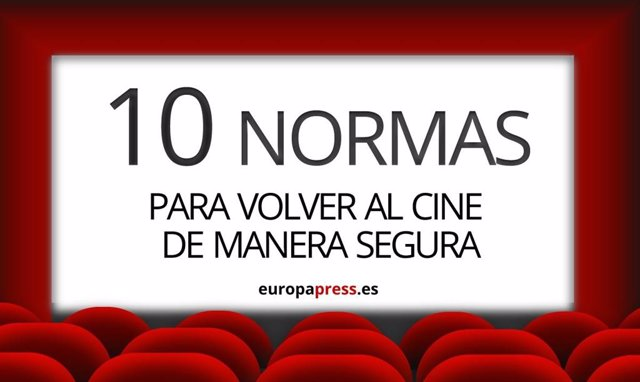 10 Normas Para Volver Al Cine De Forma Segura