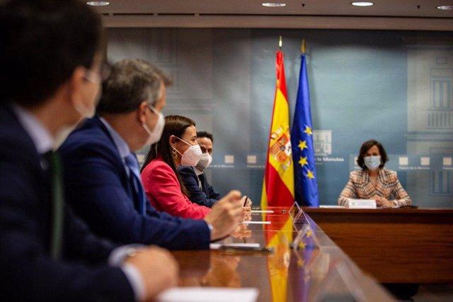 Reunión del Gobierno con Ciudadanos