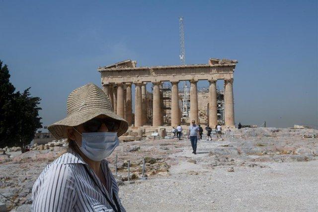 Coronavirus.- Grecia autorizará desde el lunes los vuelos a Atenas procedentes d
