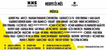 El Crulla XXS de Barcelona suma a M Clan, Marina Rossell, Albert Pla, Enric Montefusco y Rapsusklei