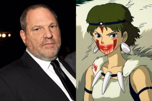 El día que Harvey Weinstein no pudo doblegar a La princesa Mononoke y el Studio Ghibli