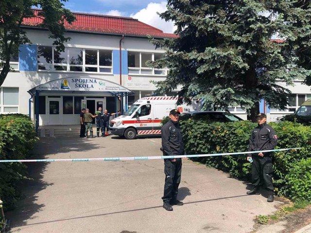 Eslovaquia.- La UE muestra sus condolencias a Eslovaquia tras el ataque contra u