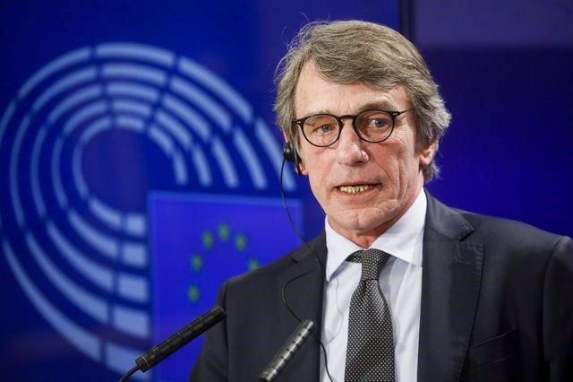El president del Parlamento Europeu, David Sassoli