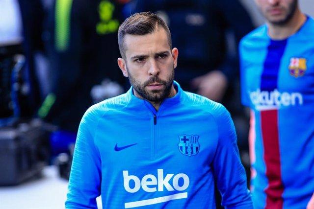 """Fútbol.- Jordi Alba: """"Hemos hecho los deberes y ahora toca esperar al Real Madri"""