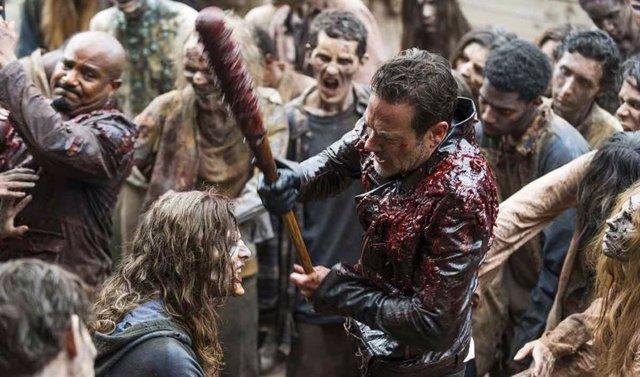 Escenas de violencia extrema en The Walking Dead