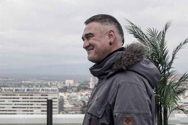 El rapero KASE.O posa en su entrevista con Europa Press, en el Hotel Riu, en Madrid (España), a 4 de diciembre de 2019.