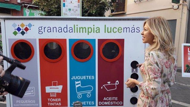 La concejal de Medio Ambiente del Ayuntamiento de Granada, Pepa Rubia.