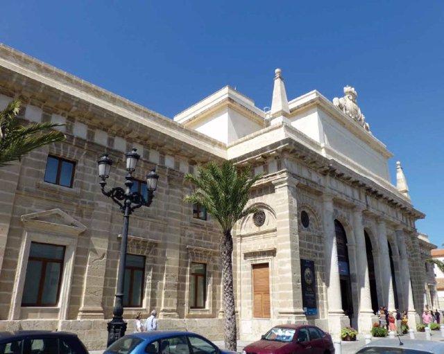 La Casa de Iberoamérica de Cádiz.