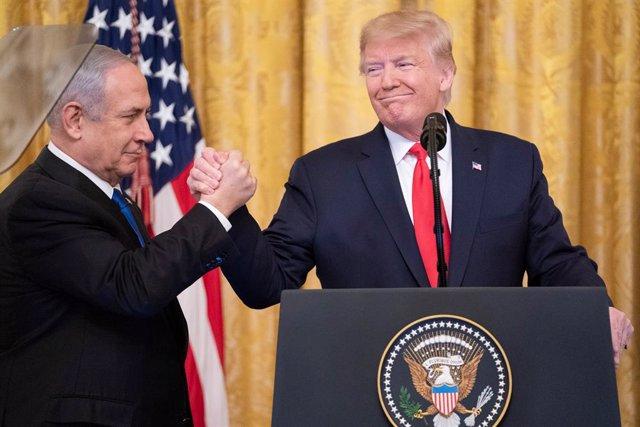 O.Próximo.- Netanyahu anuncia que el futuro asentamiento dedicado a Trump será l