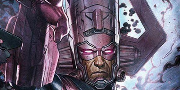 1. Galactus es el gran villano de la Fase 4 del Universo Marvel en este brutal fan-art