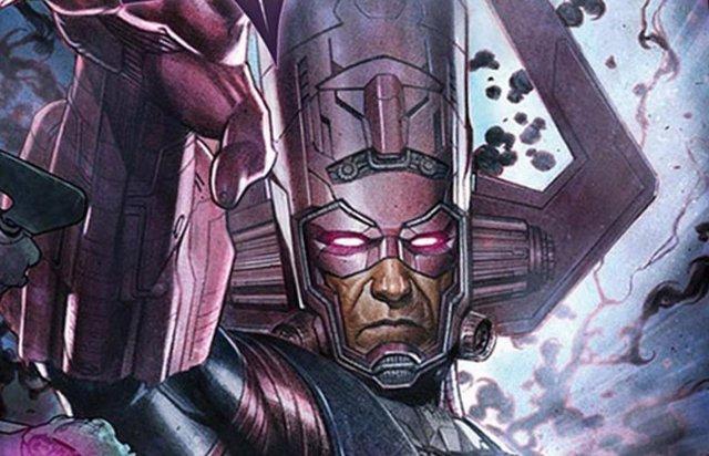 El villano Galactus en los cómics de Marvel