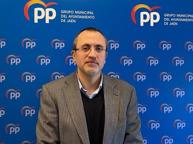 El portavoz del PP en el Ayuntamiento de Jaén, Manuel Bonilla.