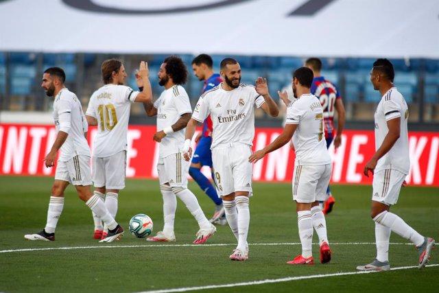 Fútbol/Primera.- Crónica del Real Madrid - Eibar, 3-1