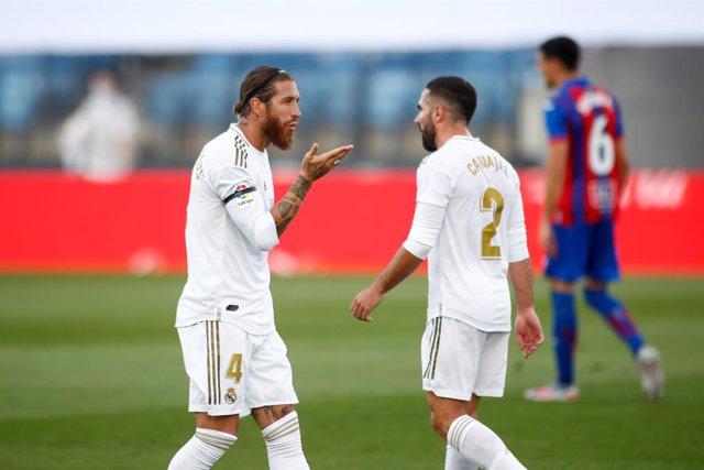 """Fútbol.- Sergio Ramos: """"Es normal que no se haya hecho un partido espléndido"""""""