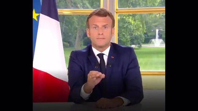 AMP.- Coronavirus.-Macron anuncia una nueva fase desde el lunes con reapertura d