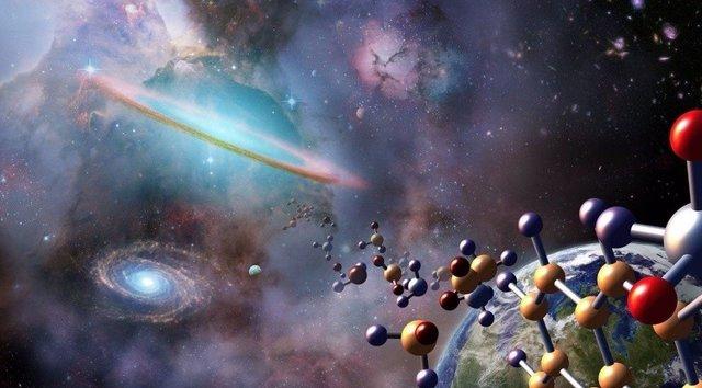 Los ingredientes de la vida nacen mucho antes de formarse las estrellas