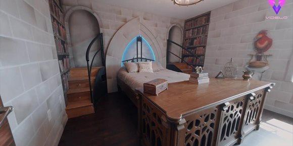 1. Descubre la magia de este 'airbnb' inspirado en Harry Potter