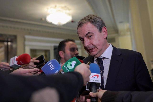 """Zapatero: """"Hablaba de poner a EEUU en situación imposible para que volviera el m"""