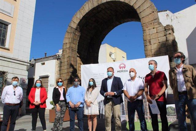 Presentación de la campaña 'Mérida, volver a verte'