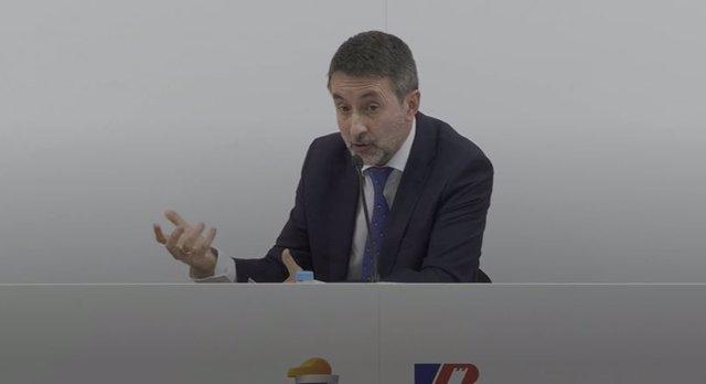 El consejero delegado de Repsol, Josu Jon Imaz, presenta dos nuevas plantas en Euskadi