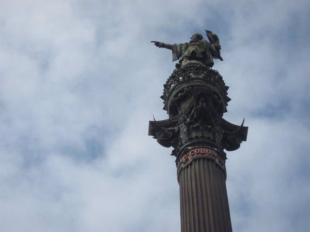 Monumento a Colón en Barcelona