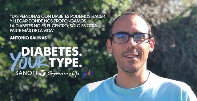 Sanofi y FEDE lanzan la campaña 'Diabetes Your Type' para destacar las formas de convivir con la diabetes