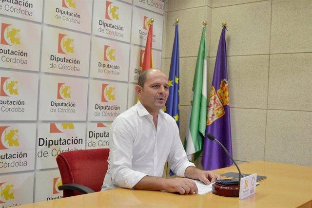 El delegado de Empleo de la Diputación de Córdoba, Miguel Ruz, en una imagen de archivo