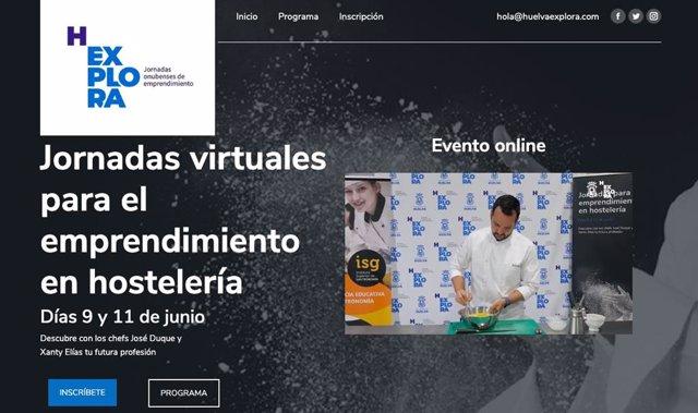 Jornadas virtuales sobre emprendimiento.