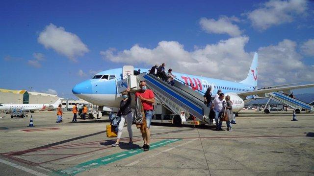 Alemania/España.- Llegan los primeros turistas alemanes a Baleares con el inicio