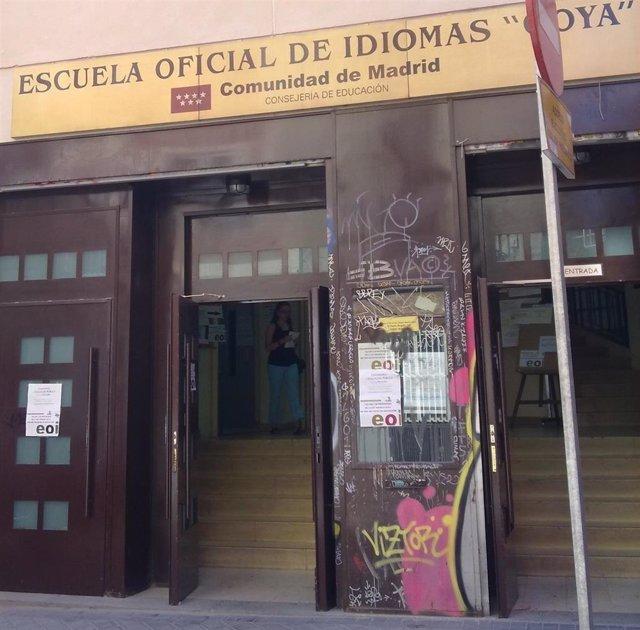 Escuela oficial de idiomas en Madrid