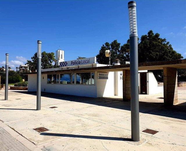 Oficina de la Policía Local de Palma en Les Meravelles