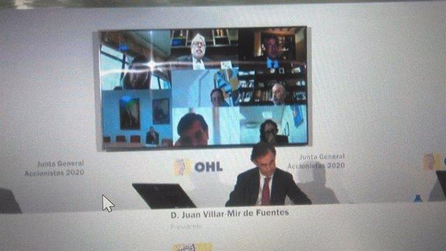 Economía/Empresas.- (AMP) OHL busca volver a beneficios y facturar 4.000 millone