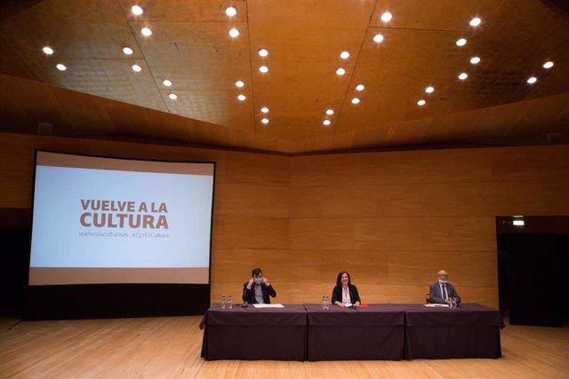 Presentación  de la campaña #VuelveALaCultura