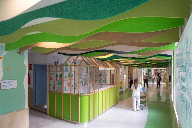 Nuevo pasillo de Juegaterapia en el Hospital Infantil Niño Jesús