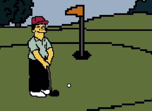 Un desarrollador hace realidad el mítico videojuego de golf 'Lee Carvallo's Putt