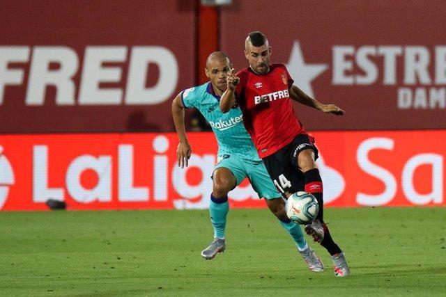 """Fútbol.- Braithwaite: """"Conozco muy bien al Leganés y tengo ganas de jugar contra"""