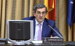 Juan Abarca, presidente del Instituto para el Desarrollo e Integración de la Sanidad (Fundación IDIS), durante su comparecencia ante la Comisión para la Reconstrucción Social y Económica del Congreso de los Diputados como miembro del Grupo de trabajo de