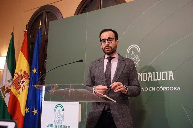 El director provincial del SAE en Córdoba, Ángel Herrador, en  una imagen de archivo