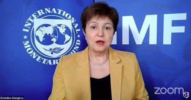 La directora gerent del FMI, Kristalina Georgieva