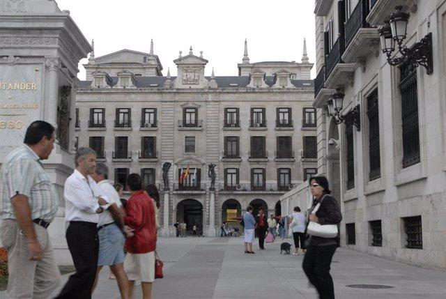 Plaza Porticada de Santander