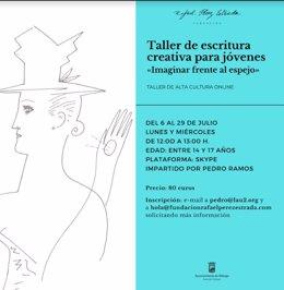 Curso de escritura creativa de la Fundación Rafael Pérez Estrada para jóvenes de entre 14 y 17 años